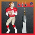 NFL SAN FRANCISCO 49ERS MONTANA FIGURE & TROPHY OR SB HELMET CEILING FAN PULLS
