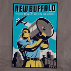 New Buffalo Brewing Men's T-Shirt - Support Craft Beer! - Cool Drinking Apparel
