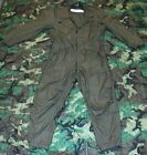 USGI Military OD CVC Fire Resistant Coveralls Flightsuit NICE Many Sizes