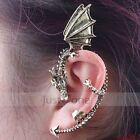 Punk Rock Gothic Vintage Style Winding Fly Dragon/ Snake Stud Ear Cuff Earring