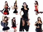 Sexy Hot Womens Halloween Party Devil Pirate Vampire Fancy Dress Outfit Costume