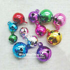 5mm 8mm 10mm 20mm 30mm 50mm Huge Assorted Color Jingle Bell Charms Mixed Color