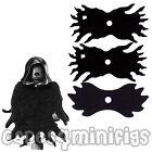 3 Custom Black Lego Dementor Capes - choose combination from old/new style cape