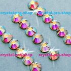 GENUINE Swarovski AB Crystal (001AB) Crystal ( NO Hot fix ) FLATBACK Rhinestones