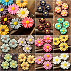 Resin fashion sun flower cameo flatback wholesale assorted fit cabochon settings