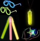 LIGHT UP NEON TOYS ACCESSORIES NECKLACE WHISTLE SPECS BRACELETS MICROPHONE FURRY