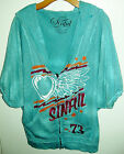 Ladies Sinful Sweatshirt Hoodie by Affliction Brand New With Out Tags