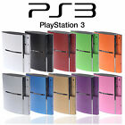 Textured Skin Sticker For PS3 ORIGINAL (FAT) Carbon Brushed Metal Decal Wrap