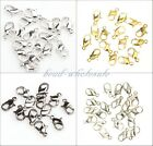 20pcs Lobster Parrot Claw Clasps Silver Plated/Gold Metal Finding DIY 12mm