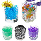 100 Bags Crystal Mud Soil Water Beads for Flower Planting Wedding Supplies Decor