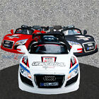 AUDI R8 KIDS RIDE ON CARS ELECTRIC CHILDRENS 6V BATTERY REMOTE CONTROL TOY CAR