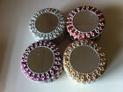 Mirror Top & Glitter Indian Trinket Boxes Large Size **4 Colours** Great Gifts