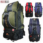 60L High Quality Outdoor Gear Backpack Rucksack Hiking Camping Travel Flight Bag