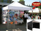 NEW Impact EZ Pop Up Canopy 10 x 10 Commercial Fair Tent 4 Walls White or Black