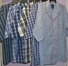 Polo Ralph Lauren Men's Pajama Top Sleepwear Nightshirt Button Front M L XL New
