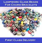 BULK / WHOLESALE MURANO GLASS LAMPWORK BEADS FOR CHARM BRACELET MIXED SELECTION