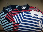 Boy's Old Navy Striped Polo Shirts - Choice of Size & Color!