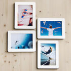 "Sandwich Panel Photo Picture Frame 4P Set for 5""x7""_Stick Stand/Wall Deco"