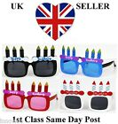 New Party Glasses Birthday Candle Birthday Party