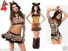 Womens Halloween Christmas Hen Night Party Fancy Dress Costume Outfit Animal