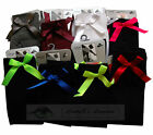 Ladies Knee High Socks with Satin bows One Size Regular adult Fashion Side Bow