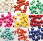 50pcs Ball Round Loose Man-made Turquoise Findings Beads Spacer 8mm U Pick Color