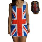 Union Jack Mens Womens Ladies Vest Tank-Top Singlet Dress T-Shirt