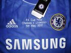 Chelsea FA Cup Final 2012 Shirt Short Sleeve Jersey Adidas XL