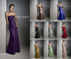 8 Colour Dress Formal Prom/Bridesmaid Cocktail Party Evening Dress Size 6-18 New