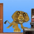 Choose size: ALEX MADAGASCAR wall sticker ROOM DECAL 4 KIDS Cartoon ART DECOR