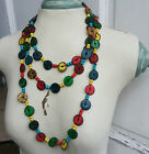 Coconut Extra Long Fashion Necklace Casual Style