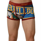 Ed Hardy Red Men's Lets Go Bulldogs Vintage Trunk