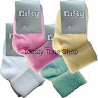 Baby Socks 2/4 Pair Pack Girls Boys Newborn 00 000 0-2.5 White Cream Pink Blue