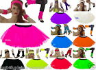 NEON TUTU SET 80's FANCY DRESS
