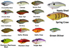 SPRO Arukushad 75 Lipless Crankbait - Assorted Colors