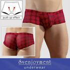Svenj. Knack-Po Hipster Pants Transparent Red Dots GEILES TEIL NEU in S M L XL