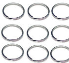 "WHOLESALE Lot 1000 500 100 50 NEW KEY RINGS 29mm 1-3/16"" Diameter Split Ring"