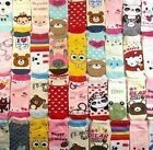 4 Pairs Fashion Cute Lovely Girls Cartoon Short Ankle Socks Anklet Colorful Fun