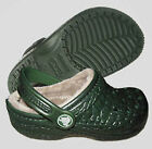 Crocs Kids Crocskin Lined Forest Green C4/5 C6/7 C8/9 C10/11 C12/13 J1 J2 J3 $40