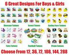 Childrens TEMPORARY TATTOO Party Goodie Loot Bag Filler Favour Favor Treats NEW