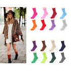 New Korea Fashion 18 Colors Roll Top Solid Color Ankle Socks Cotton Casual Socks