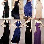 Women's Sexy Evening Cocktail Off-Sleeve Party Long Dress Nightclub Clubwear