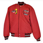 NBA JH Design Miami Heat Champions 2012 2006 Letterman Reversible Jacket Quilted