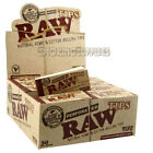 Raw Wide Perforated Tips Roach Booklets Multi Listing Natural