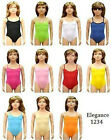 GIRL'S & LADIES COTTON / LYCRA CAMISOLE LEOTARDS DANCE/GYM/BALLET SPORT COLOUR