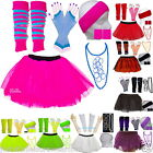 NEON  TUTU SKIRT / accessories 80'S FANCY DRESS