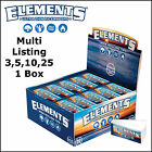 Elements Wide Tips - Roach Filter Tips for Rolling Papers Qty- 3, 5,10, 25, 50