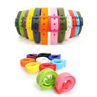 Funky Belt New Silicone Rubber Jelly Vinyl Plastic Suit Casual Buckle Adjustable