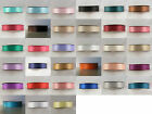 25m Roll of 38mm Double Sided Satin Ribbon available in various colours.