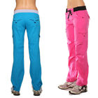 Full length cotton pants by Blockout womens sports wear. Gymwear Exercise yoga